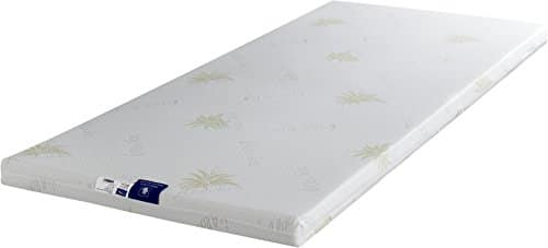 King of Dreams SurMatelas 140×200 Mousse Déhoussable Aloè Vera Très Moelleux