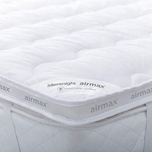 Silentnight surMatelas Airmax Blanc Double
